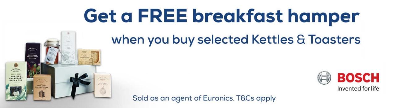 Bosch Breakfast Bundle Promo