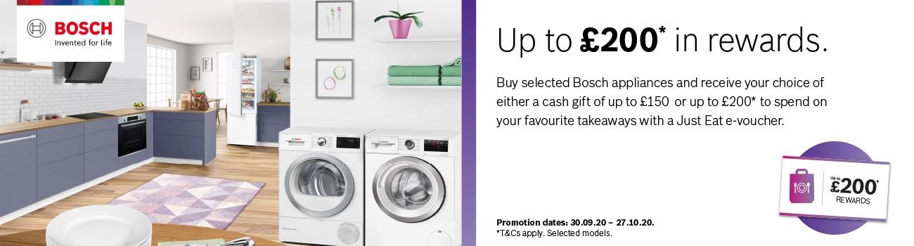 Bosch Choice Rewards Promotion