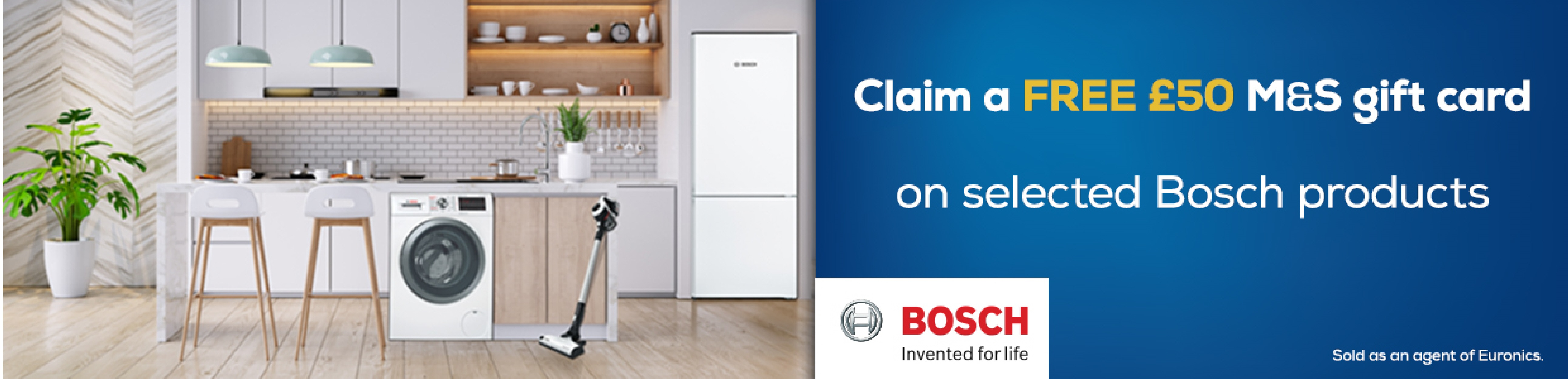 Bosch £50 M&S Card Promotion
