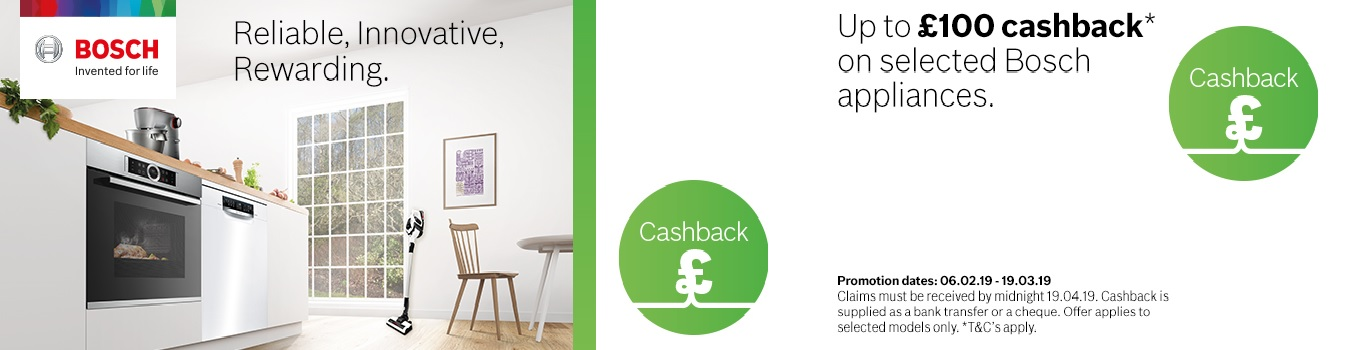 Bosch Spring Cashback