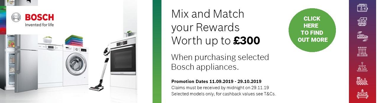 Bosch Pick & Mix Promotion