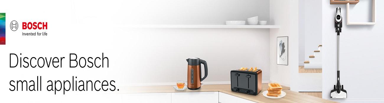 Bosch Small Appliances Banner