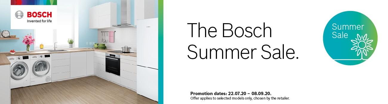 Bosch Summer Sale Promotion