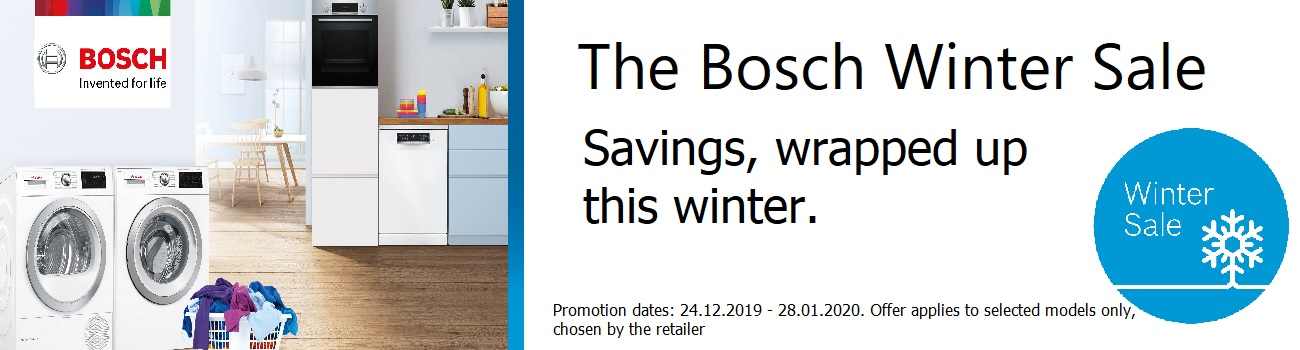 The Bosch Winter Sale