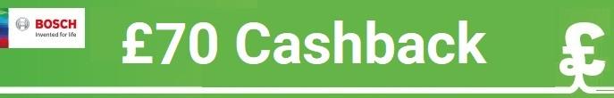 Bosch Spring Cashback £70