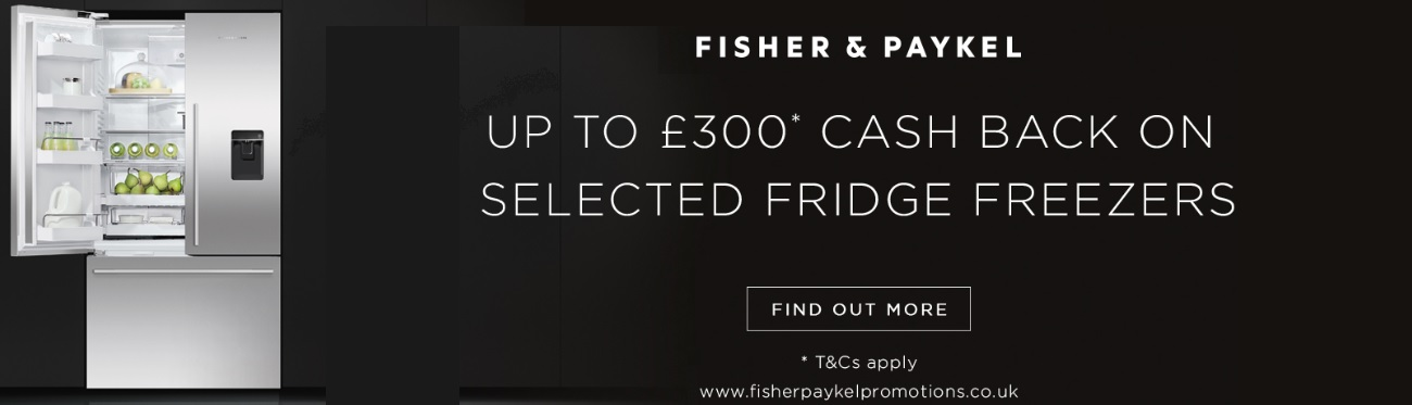 Fisher & Paykel Cooling Cashback