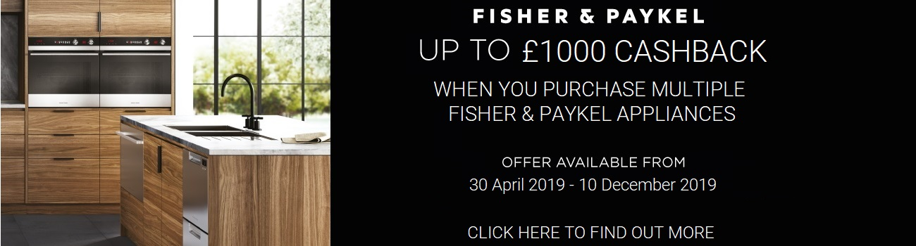 Fisher & Paykel Pack Cashback