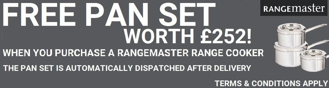 Rangemaster Free Pan Set
