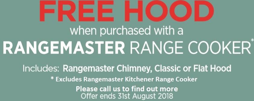 Rangemaster FREE Hood Offer