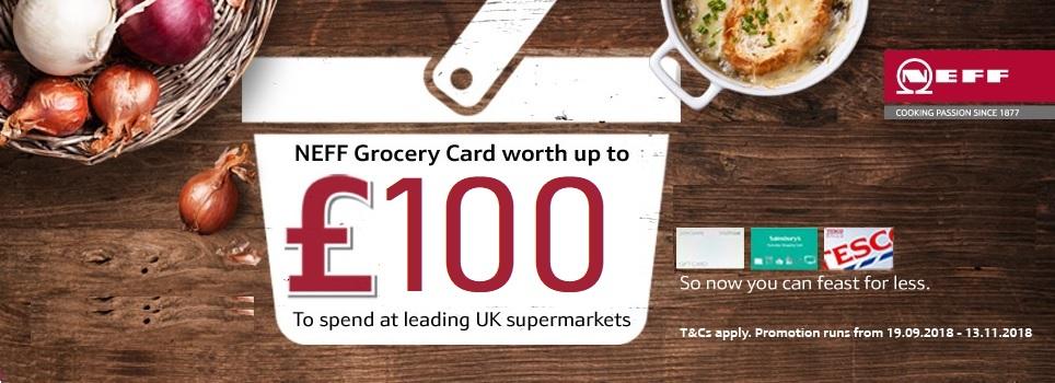 Neff Grocery Card £100