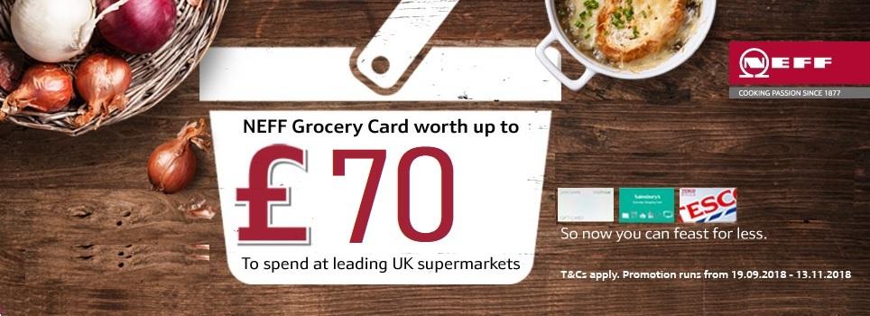 Neff Grocery Card £70