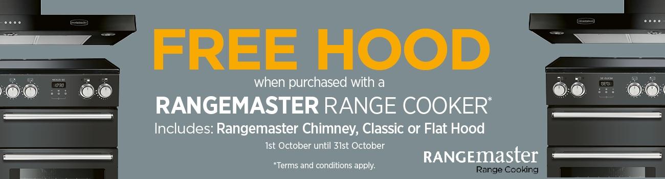Rangemaster FREE Hood Offer 2018