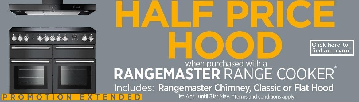 Rangemaster Half Price Hood 2019