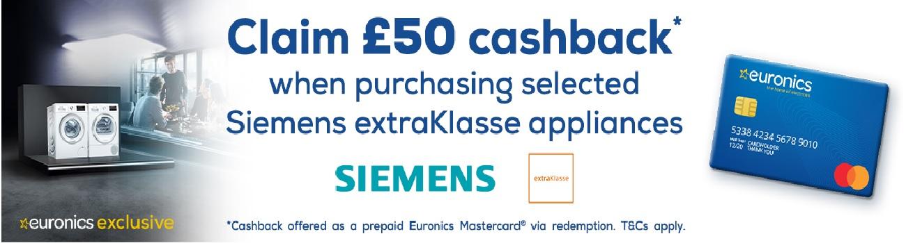 Siemens Mastercard Promotion