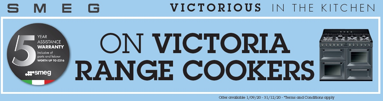 Smeg Victoria Range Cooker Promo