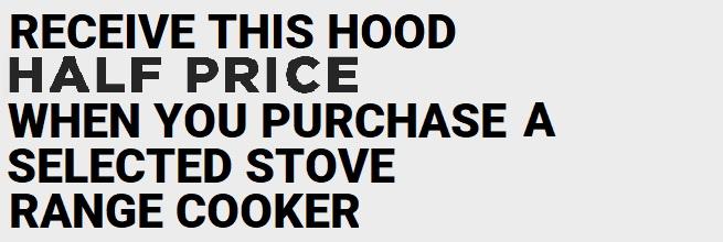 Stoves Half Price Hood - Hoods