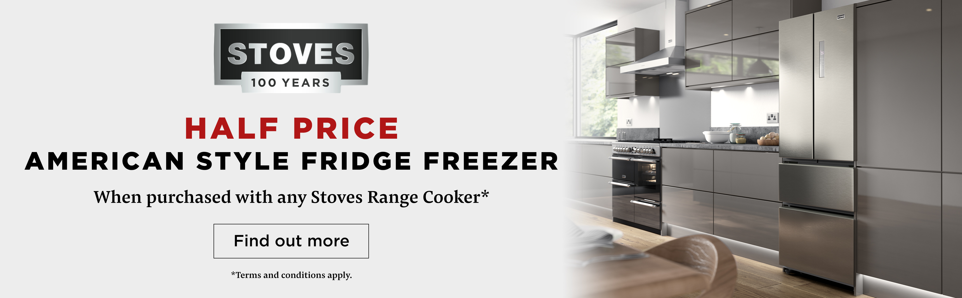 Stoves Half Price American Refrigeration