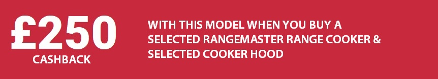 Rangemaster £250 Cashback
