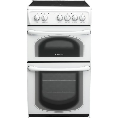 Hotpoint 50HEPS Electric Double Oven, 50cm, B Energy