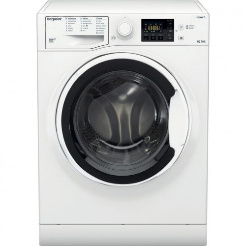 Hotpoint RDGE9643WUKN 1400 Spin Washer Dryer, 9kg Wash + 6kg dry