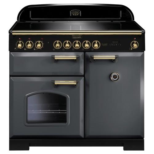 Rangemaster Classic Deluxe 100cm Induction Slate Range Cooker