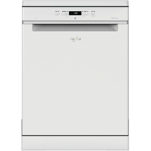Whirlpool WFC3C24P Freestanding Full Size Dishwasher, 14 Place Settings, A++ Energy