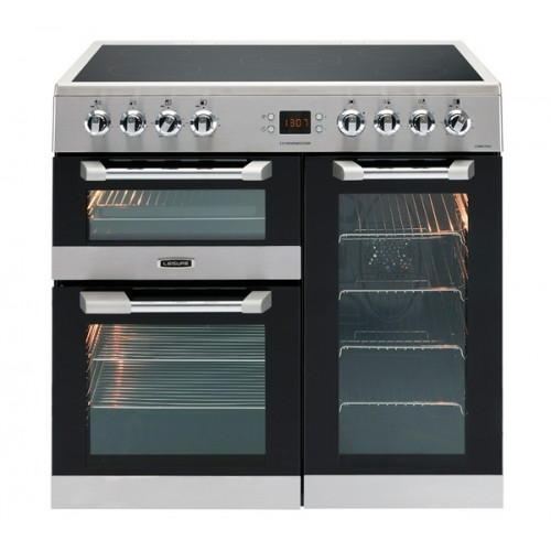 Leisure CS90C530X Ceramic Electric Cuisinemaster Cooker Stainless Steel