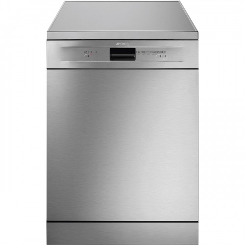 Smeg DF13EF2X Freestanding Full Size Dishwasher, 13 Place Settings, A++ Energy