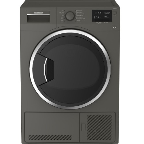 Blomberg LTK28031G Condenser Tumble Dryer, 8kg Capacity, B Energy