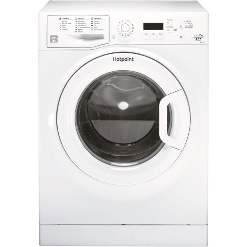 Hotpoint WMBF742P Washing Machine, 7kg Capacity, 1400 Spin, A++ Energy