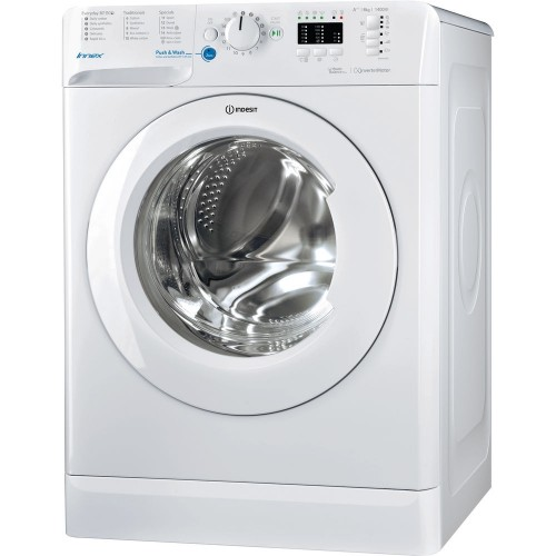 Indesit BWA81483XW Washing Machine, 8kg, 1400RPM, A+++ Energy