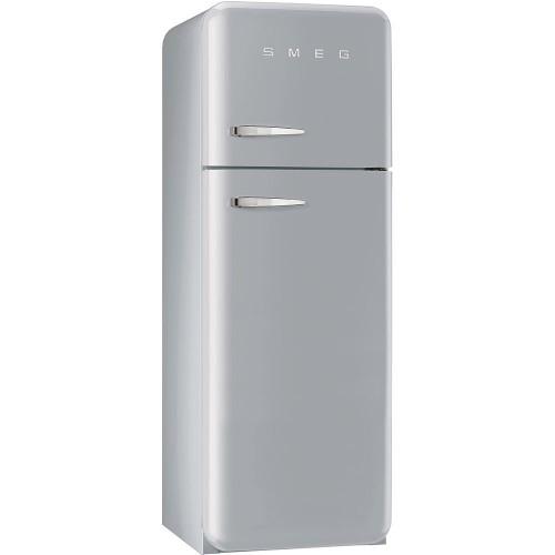 Smeg FAB30RFS Retro Fridge Freezer, 60cm, Manual Defrost, A++ Energy