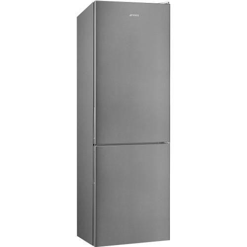 Smeg FC182PXNUK Fridge Freezer, 60cm, Frost Free, A++ Energy