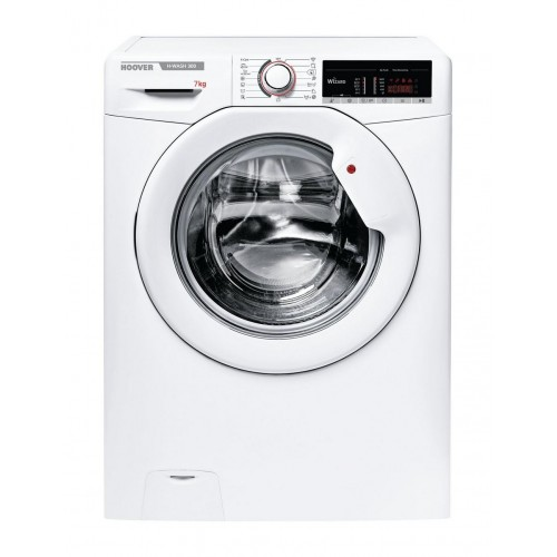 Hoover H3W47TE Washing Machine, 7kg Capacity, 1400 Spin, A+++ Energy