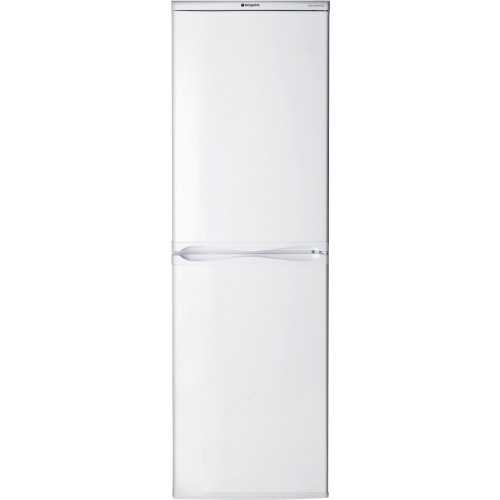 Hotpoint HBD5517W Fridge Freezer, 55cm, Manual Defrost, A+ Energy
