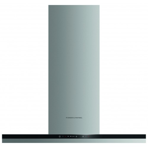 Fisher & Paykel HC90BCXB2 90cm Chimney Extractor Hood, A+ Energy