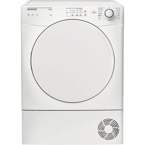 Hoover HLC8LF Condenser Tumble Dryer, 8kg Capacity B Energy