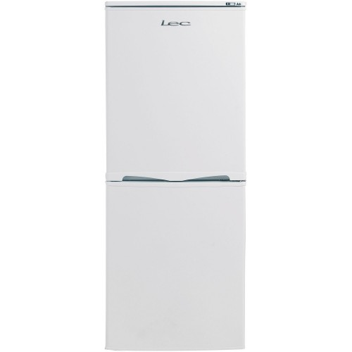 Lec T5039W Fridge Freezer, 50cm, Manual Defrost, A+ Energy