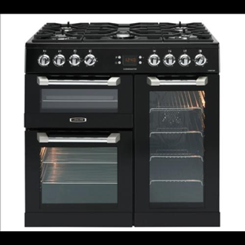 Leisure CS90F530K Cuisinemaster 90cm Dual Fuel Range Cooker Black