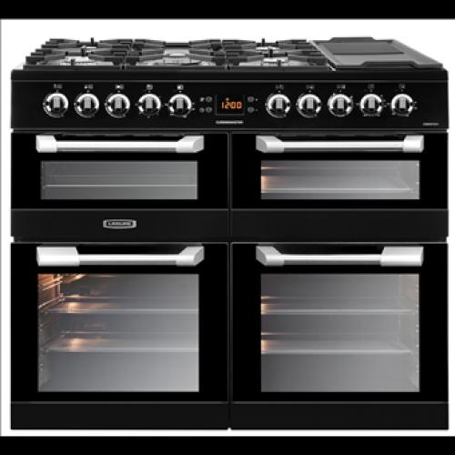 Leisure Cuisinemaster CS100F520K 100cm Dual Fuel Cooker Black
