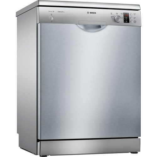 Bosch SMS25AI00G Freestanding Full Size Dishwasher, 12 Place Settings, A++ Energy