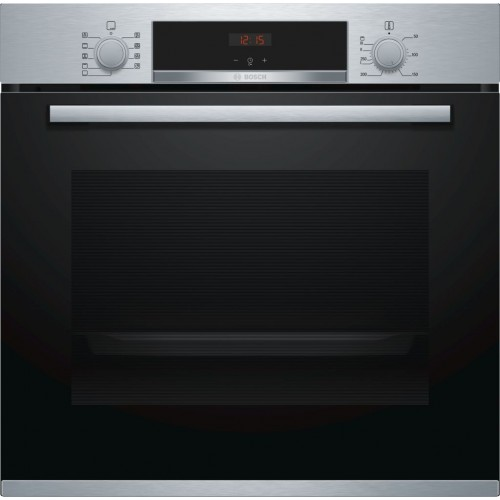 Bosch HBS534BS0B Enamel Interior, Single Multifunction Oven, Electric, A Energy