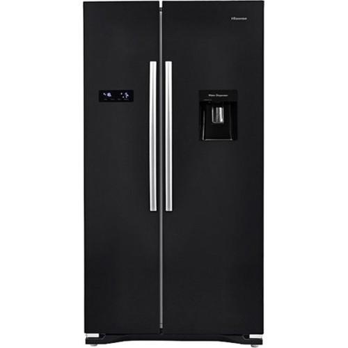 Hisense RS723N4WB1 American Style Fridge Freezer, 90cm, Frost Free, A+ Energy