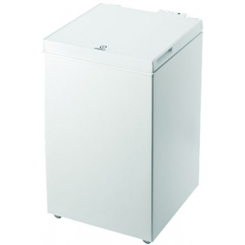 Indesit OS1A100 Chest Freezer, 52cm, Manual Defrost, A+ Energy