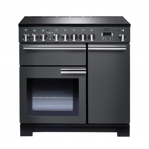 Rangemaster Professional Deluxe 90cm Induction Slate Range Cooker