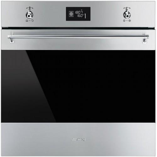 Smeg SFP6390XE Pyrolytic, Single Mutlifunction Oven, Electric, A+ Energy