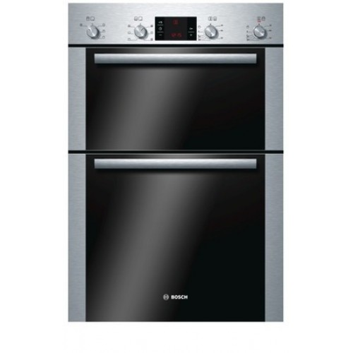 Bosch HBM43B250B Catalytic, Double Multifunction Oven, Electric, A Energy
