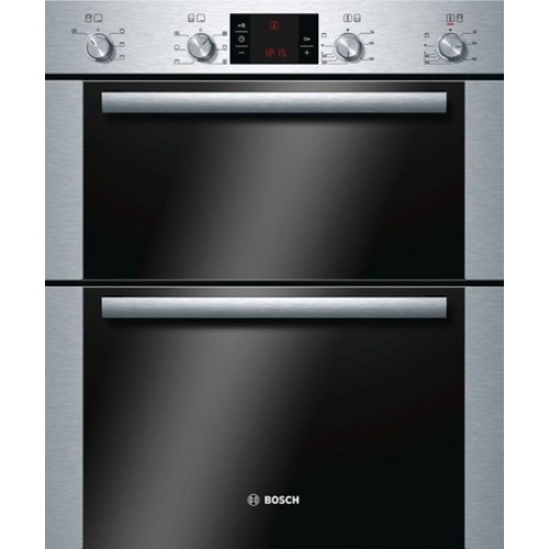 Bosch HBN43B250B Enamel Interior, Double Multifunction Oven, Electric, A Energy