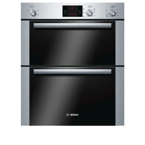 Bosch HBN13B251B Enamel Interior, Double Multifunction Oven, Electric, A Energy