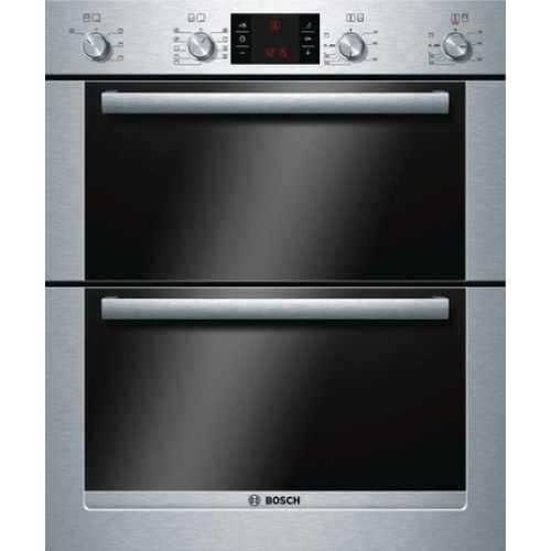 Bosch HBN53R550B Enamel Interior, Double Multifunction Oven, Electric
